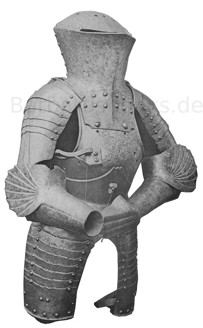 Deutsche Stechrüstung Turnierrüstung des 15. Jahrhunderts
