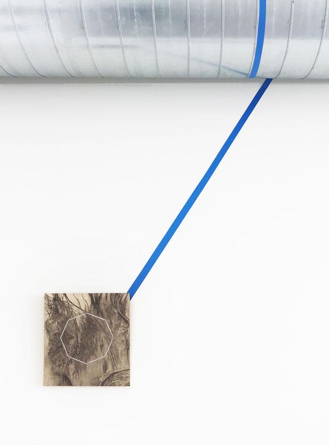 Installation view: mtn | territori, 2019, Museo Temporaneo Navile, Bologna