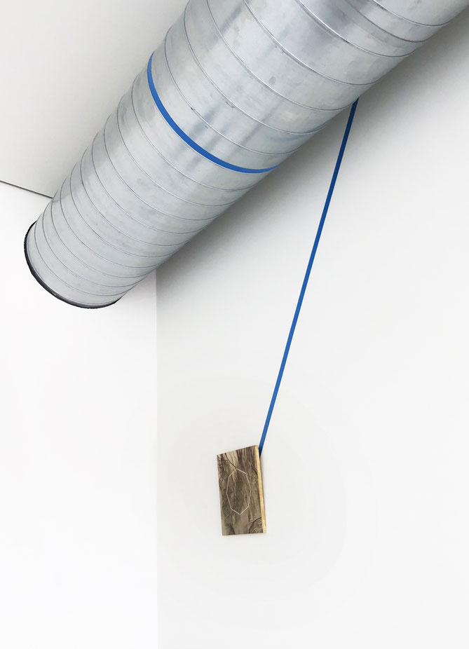 Side installation view: mtn | territori, 2019, Museo Temporaneo Navile, Bologna