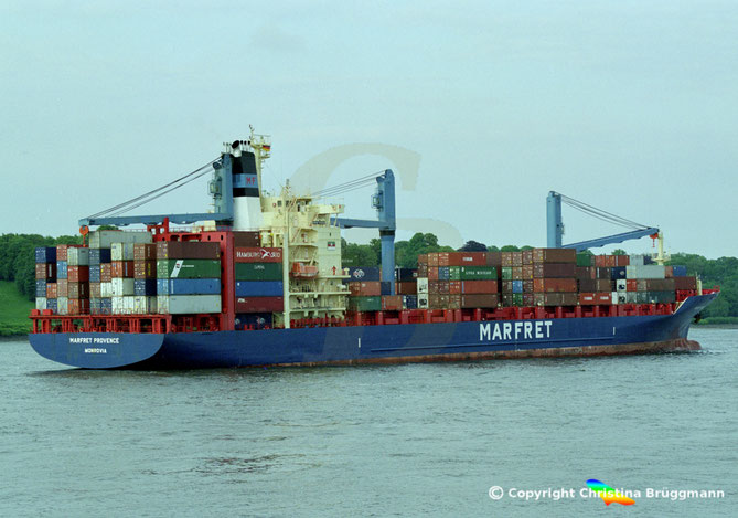 Containerschiff MARFRET PROVENCE