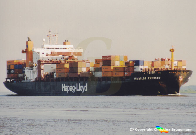 Hapag-Lloyd Containerschiff HUMBOLDT EXPRESS