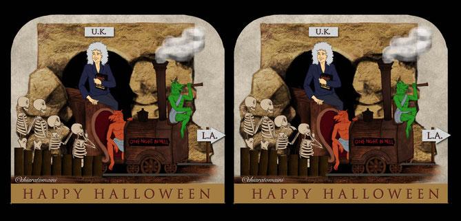 Stereo pic Happy Halloween - ChiaraTomaini 2014