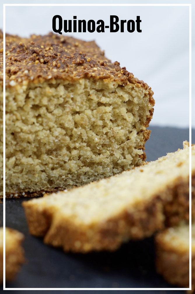 Glutenfreies Quinoabrot, Lowcarb und zuckerfrei