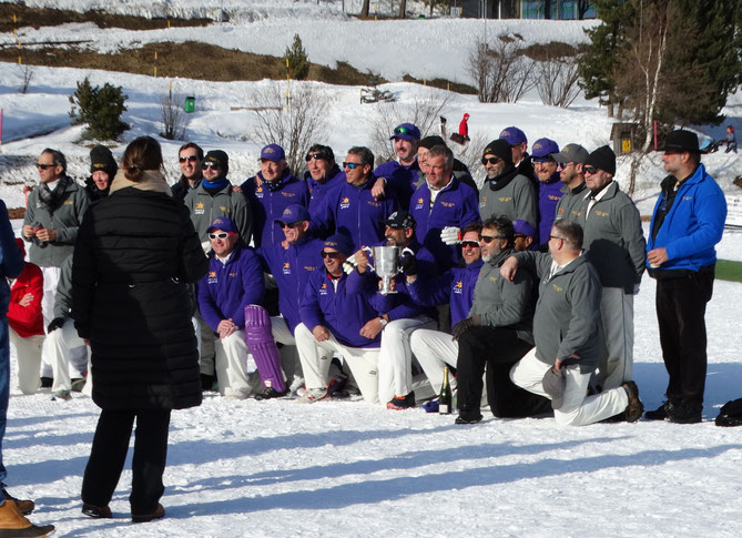 Finalists at the 2020 Cricket on Ice Trophy (15.2.2020)