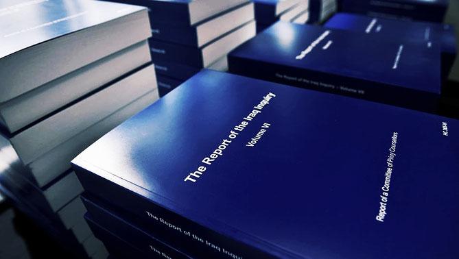 Il rapporto della commissione d'inchiesta sul coinvolgimento del Regno Unito nella guerra in Iraq