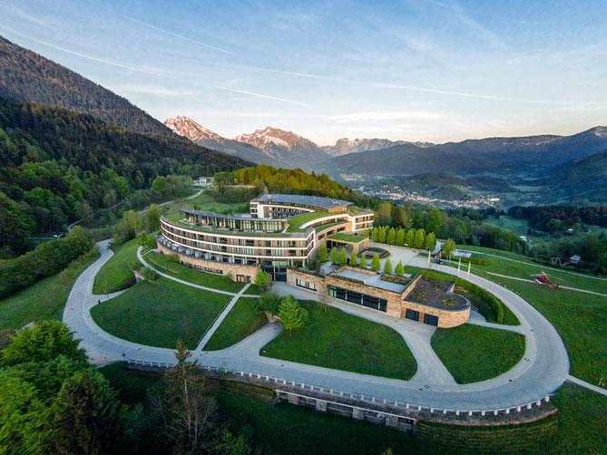 Das beeindruckende Bergpanorama zum Greifen nah ©Kempinski Hotel Berchtesgaden