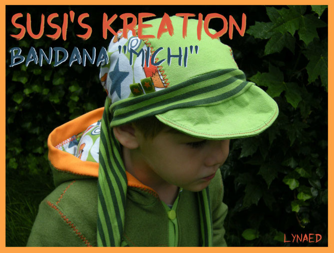 "Bandana ""Michi"" von Susi's Kreation"