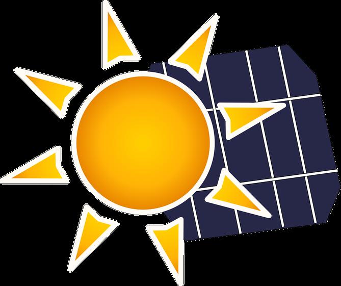 Symbolbild Sonne und Photovoltaik