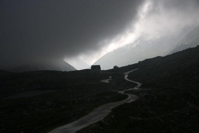 Gewitter am Pfitscher Joch am 16.07.2009, 19:30 Uhr