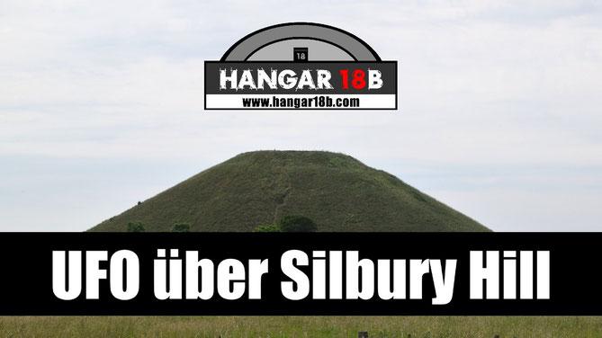UFO über Silbury Hill