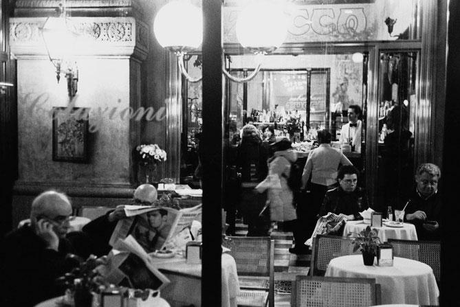 Milano, caffé in Galleria