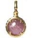 A treasure ball that prays at the sacred place Utaki in Okinawa  Lavender Amethyst Power stone Pendant Necklace
