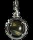 A treasure ball that prays at the sacred place Utaki in Okinawa  Hawk's Eye Power stone Pendant Necklace