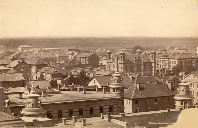 Liberale Synagoge: Überragte die Dächer Darmstadts / Foto: Stadtarchiv