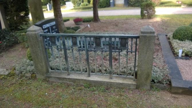 Otto Wolfskehl-Grab Alter Friedhof / Foto: Martin Remmele (FLS)