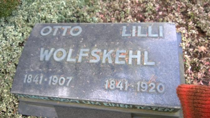 Wolfskehl-Grab /Foto: Martin Remmele (FLS)
