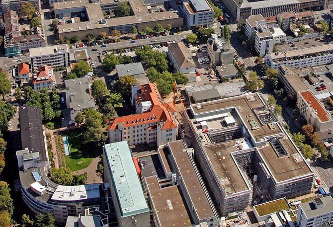 Lib Syn-Gedenkstätte auf dem Darmstädter Klinikumsgelände / Foto: KLinikum Darmstadt