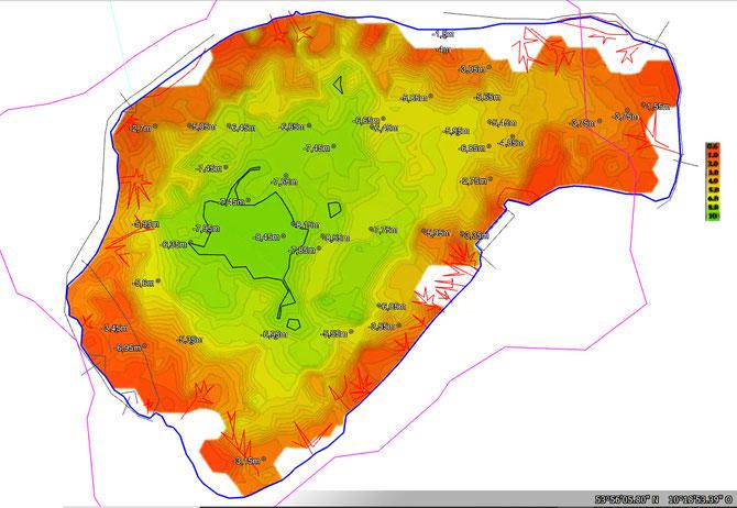 topografische Karte Kleiner Segeberger See