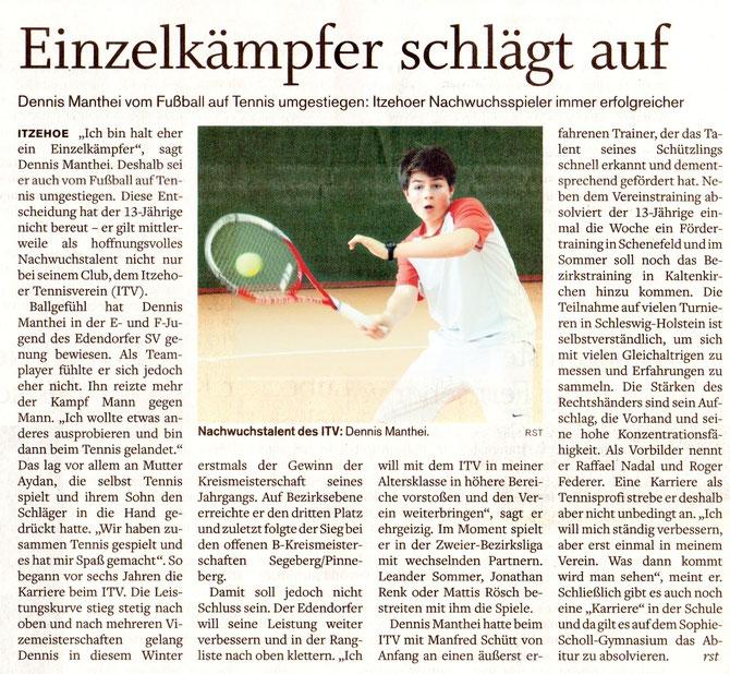 Quelle: Norddeutsche Rundschau