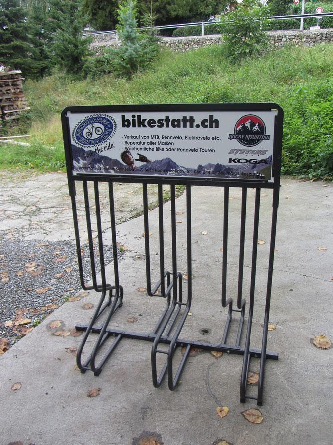 Veloständer Bachmanns Bikestatt