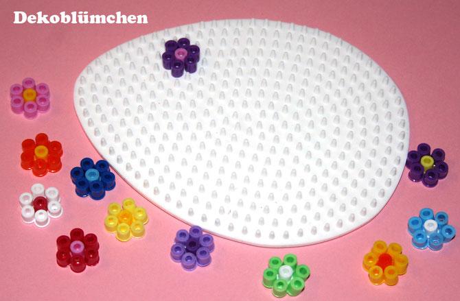 Spielwaren-Kröll - Hama - Vorlage - Stiftplatte Ei - Blümchen