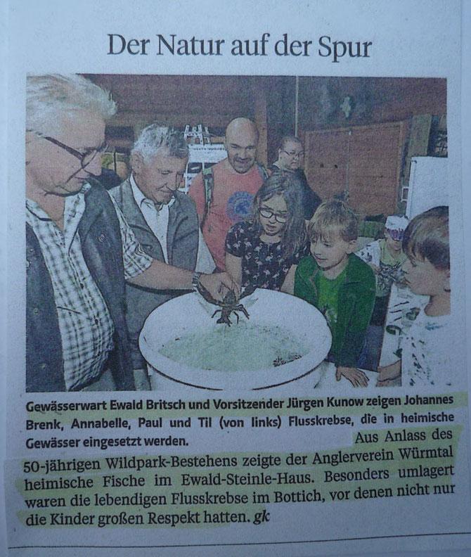 Zeitungsausschnitt PZ vom 27.06.2018