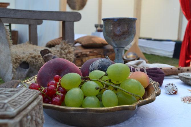 Leckeres Obst im Haus des Aedils