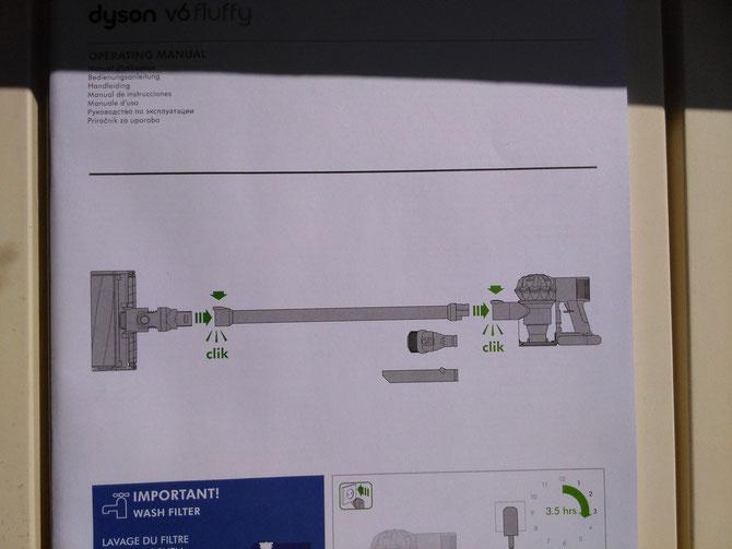 DYSON V6 Stecksystem