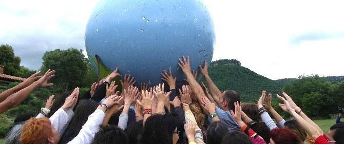 Sostener la Madre Tierra. Servir a la humanidad...
