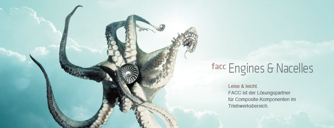 FACC: Der Geschäftsbereiche Engines & Nacelles fertigt u.a. Verkleidungen für Triebwerke.