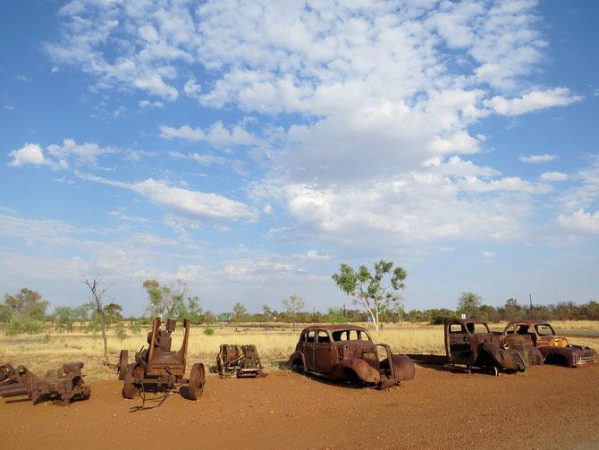 Zurück ins rostige Outback