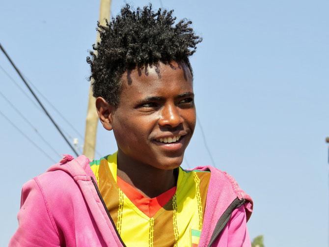 Netter Junge in Addis