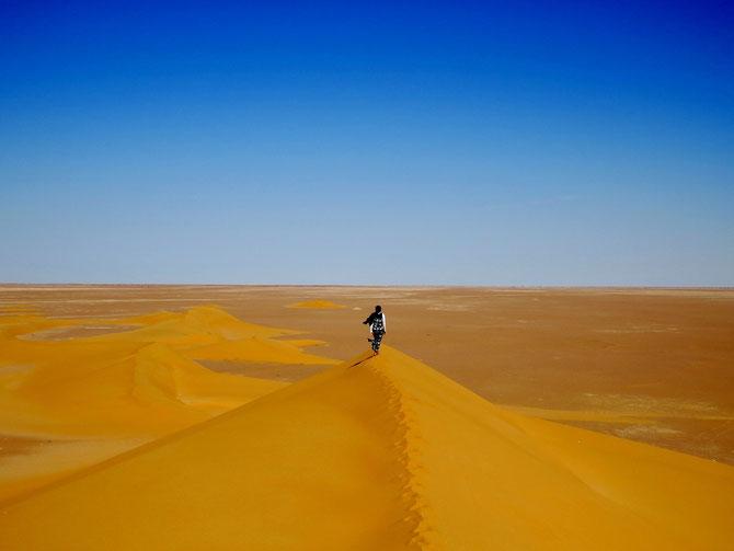 Durch und über Sand