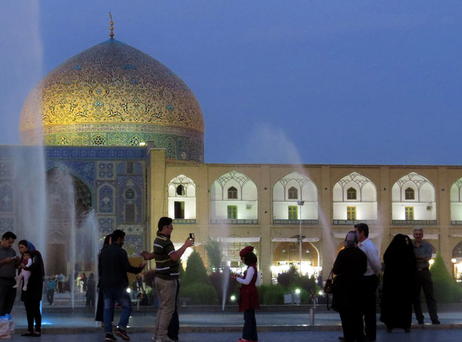 Eine der vielen schönen Moscheen