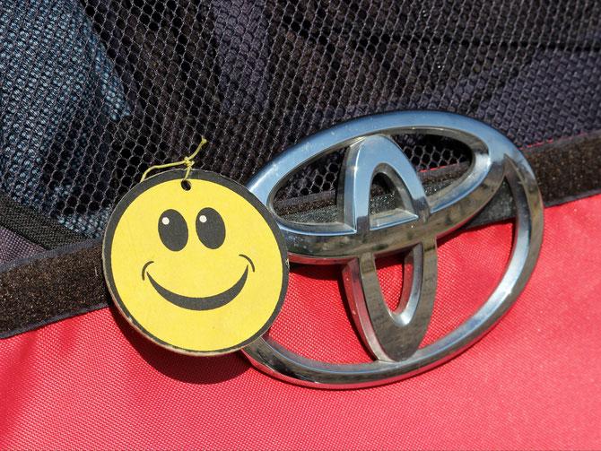 Smiley und Toyota