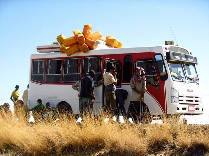 Bus kaputt - Zwangspause