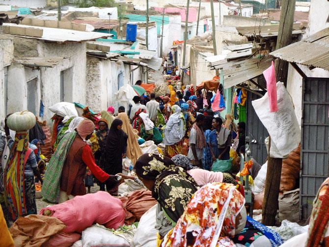 Ganz Alt- Harar ist ein Markt