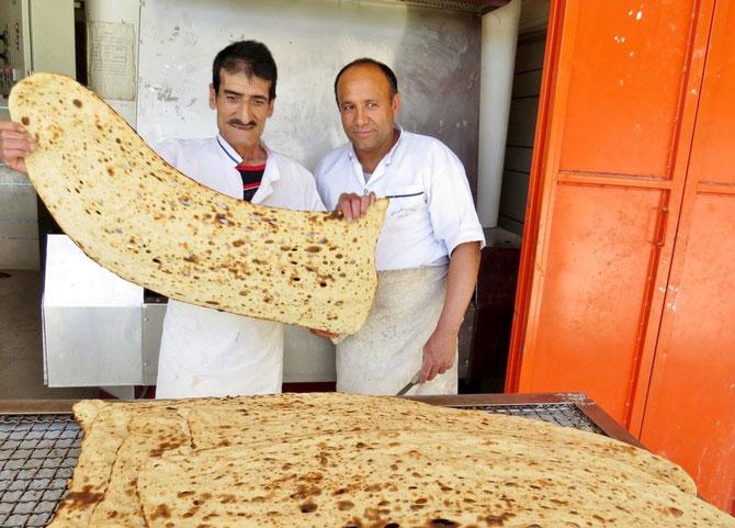 Sie verstehen ihr Handwerk - Brotbäckerei