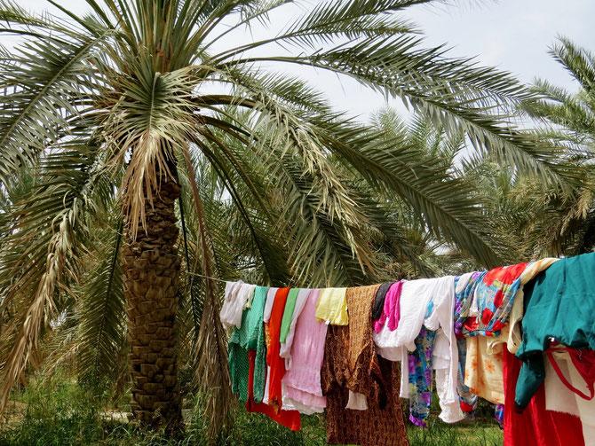 Wäscheplatz von Ali's Familie
