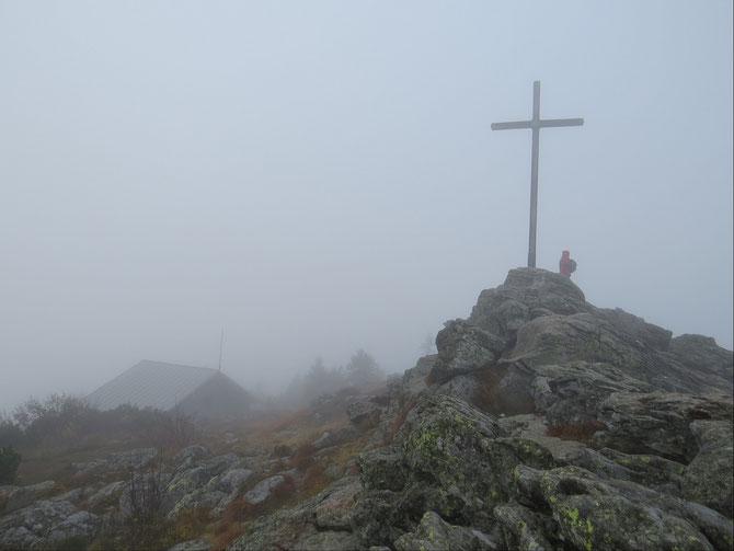 Gipfelkreuz Großer Arber - 1456 m
