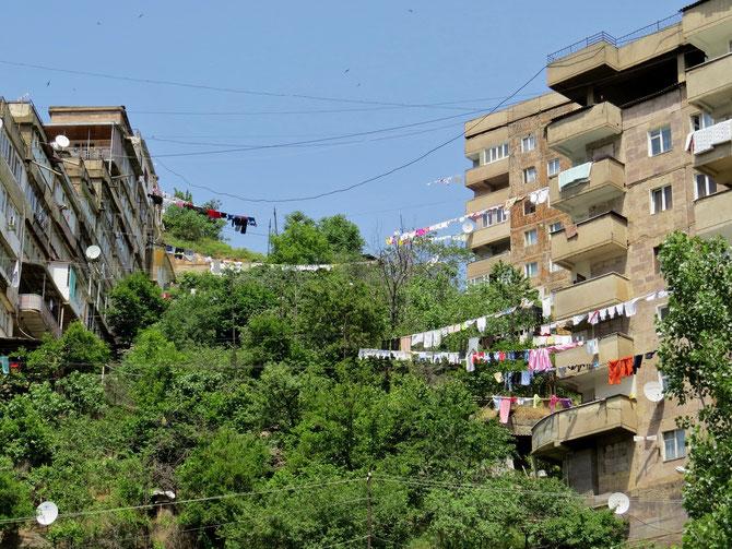Hostel gibt es auch in den Wäscheblocks