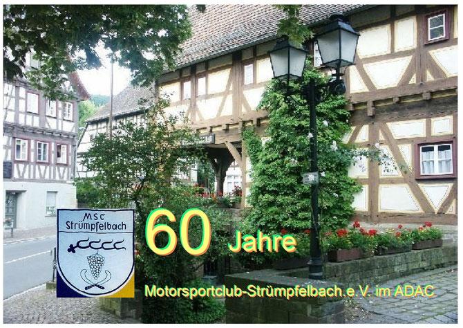 Weinstadt Strümpfelbach ist der Heimatort des Motorsportclubs Strümpfelbach eV. im ADAC gegründet am 12 Februar 1953