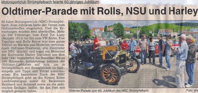 Zeitungsartikel vom 11.07.13 WSW