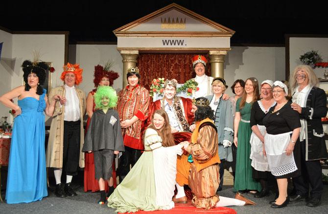 Foto: Theater in der Gerbergasse Karlstadt, 29.12.2016