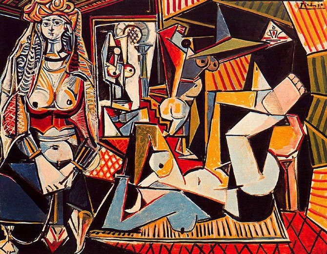 パブロ・ピカソ「アルジェの女」(1954-55年)