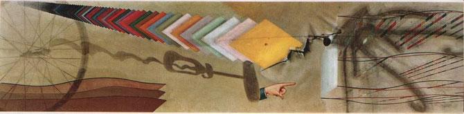 マルセル・デュシャン「Tu m'」(1918年)