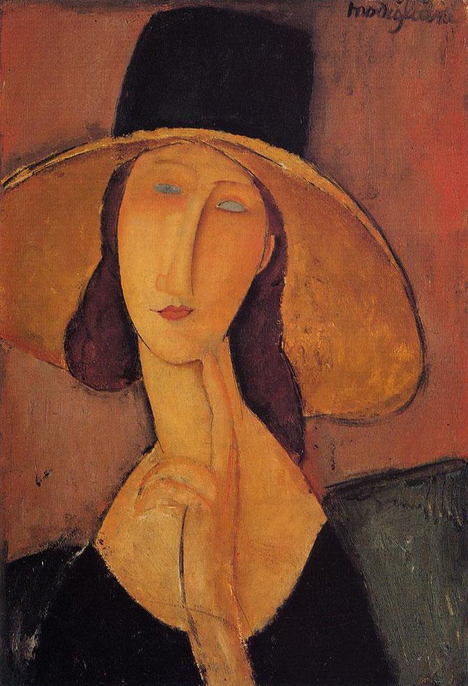 アメディオ・モディリアーニ「裸婦」(1916年)