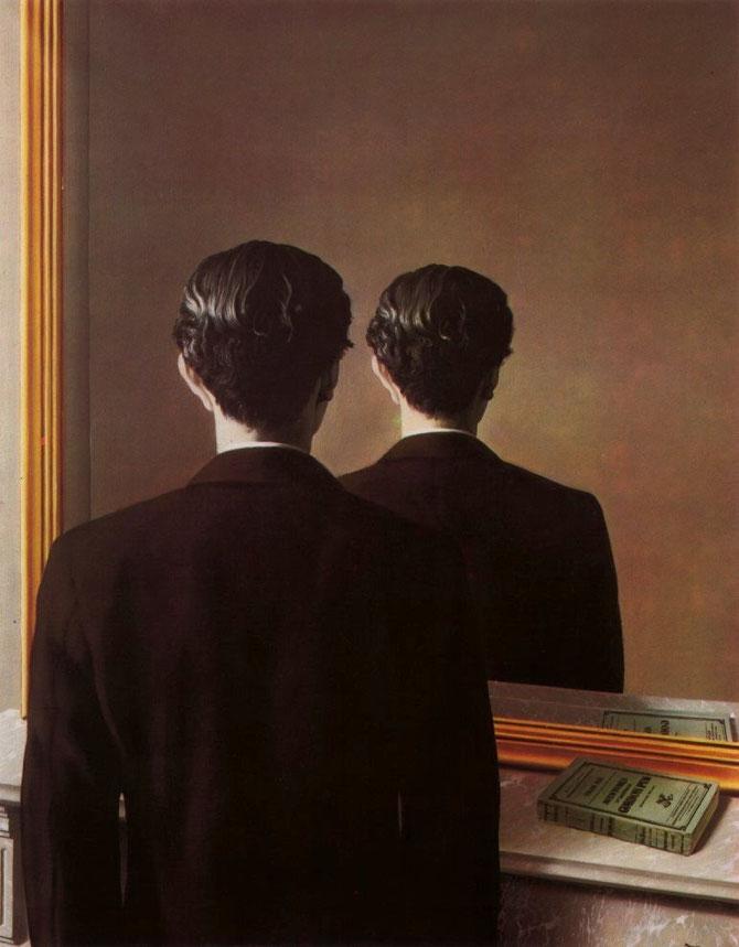 ルネ・マグリット「不許複製」(1937年)