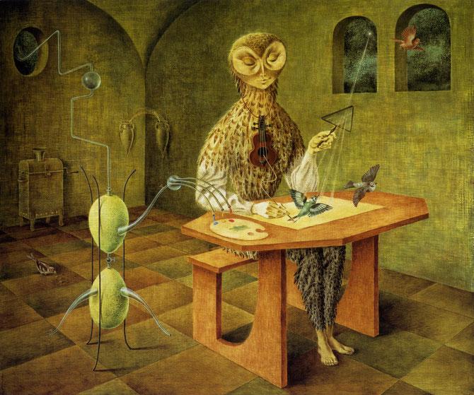 レメディオス・ヴァロ「鳥の創造」(1958年)