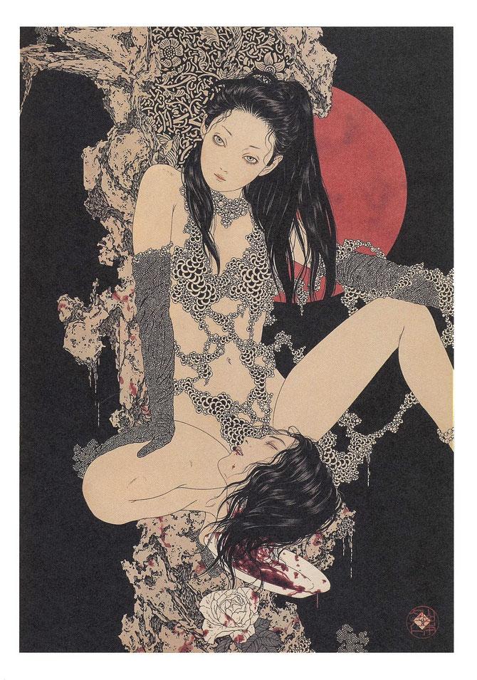 山本タカト「変貌する性的欲望の亡霊」(2003年)